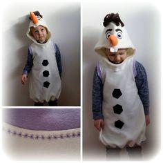 Der kleine Olaf aus dem Film die Eiskönigin. #nähwettbewerb #kostüm #frozen