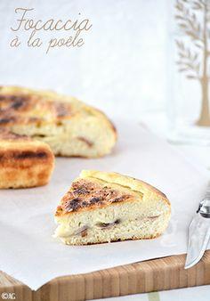 Une méthode de cuisson de la Focaccia qui a titillé ma curiosité quand je l'ai vu sur le blog Italien Oggi pane e salame, domani… Aussitôt vue, aussitôt tentée ! Je n'ai pas utilisé la même recette ni tout à...