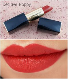 """The Happy Sloths: Estee Lauder Pure Color Envy Matte Lipsticks in """"Decisive Poppy"""" & """"Volatile"""": Review and Swatches"""