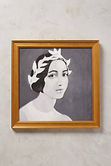 Young Lady Wall Art - anthropologie.com