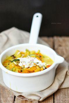 Eine Runde Soulfood bitte: Cremiges Süßkartoffel-Kürbis-Curry - dreierlei liebelei – blog für schönes