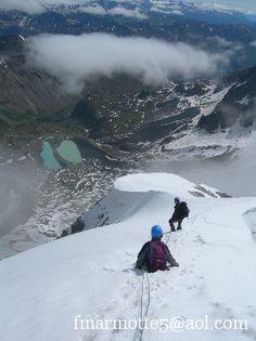 Pic du Glacier Blanc 3527m. Rando-alpinisme dans Les Ecrins groupe des Agneaux. - Le blog de FMarmotte5