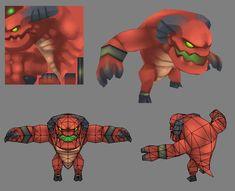 Demon Model (Download) by EelGod.deviantart.com on @DeviantArt