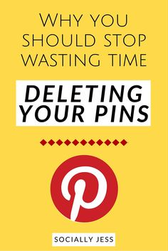 Stop Wasting Time Deleting Your Pins! According to Pinterest HQ, it's not a good idea and you could be deleting pins that would have gone viral just a few months later. Here's the breakdown of why deleting pins is a myth and that you shouldn't be doing it.