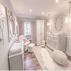 ideas for baby girl nursery room ideas lilac pink Baby Bedroom, Baby Room Decor, Girls Bedroom, Nursery Decor, Baby Rooms, Baby Girl Nursey, Bedrooms, Nursery Room Ideas, Baby Girl Nursery Pink And Grey