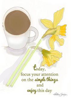 Enjoy the simple things. ♥ ༺ß༻