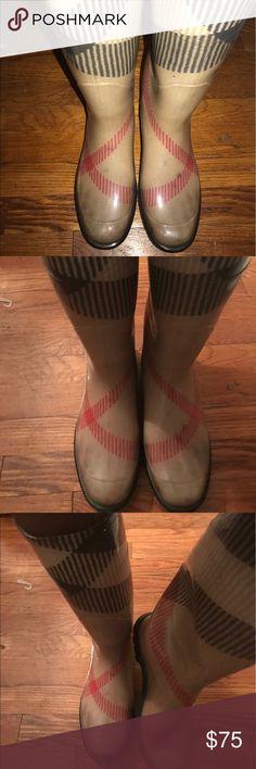 Burberry Rain Boots Burberry Tall Rain Boots Burberry Shoes Winter & Rain Boots