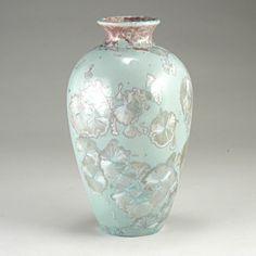Hand Made Porcelain Vase  Free Shipping by CrystallineGlaze