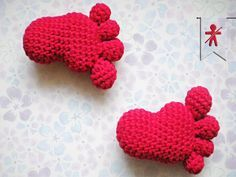 Crocheted by Amiguru Crochet Gratis, Crochet Amigurumi, Amigurumi Patterns, Crochet Dolls, Crochet Patterns, Love Crochet, Diy Crochet, Crochet Baby, Crochet Keychain