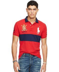Polo Ralph Lauren Custom-Fit Colorblocked Polo Shirt