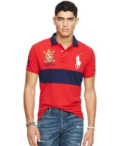 Polo Ralph Lauren Custom-Fit Colorblocked Polo Shirt