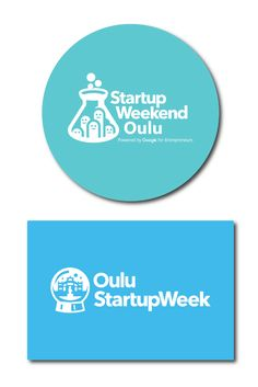 Colorful logo stickers have traveled all the way to Finland for Oulu Startup Week and Startup Weekend Oulu for a seven day celebration of entrepreneurship and community starting on Friday.