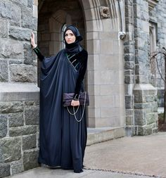 Evening Hijab Dress  Love the touch of velvet.
