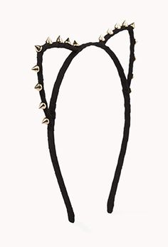 """Amazing! I have been looking for one of these cute headbands since Taylor Swift wore one in her """"22"""" music video. Too cute cat headband from Forever 21! <3"""