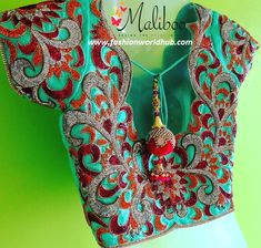 Designer bridal blouses from Maliboo boutique.. For details of below blouses please contact Call 099433 87403. Address :- 34 A karthis apartment, groundfloor, mamarathu thottam, Lane next to orchards /page 3, Race Course, Coimbatore, Tamil Nadu 641018. Coimbatore, Tamil Nadu.