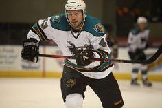Worcester Sharks enforcer Jimmy Bonneau (April 5, 2014).
