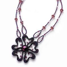Olga Arsentieva necklace, repinned by Jill Wiseman via Eva Maria Keiser