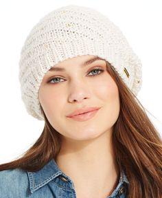 2ecfa03affb Steve Madden Swirlmates Beanie Hat   Reviews - Handbags   Accessories -  Macy s