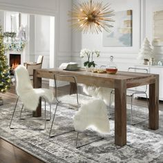 Home Decorators Collection Edmund Smoke Grey Dining Table 1514000980 - The Home Depot Decor, Furniture, Grey Dining Tables, Modern Dining Room, Dining Table, Home Decorators Collection, Comfy Chairs, Room Furniture, Dining Room Furniture