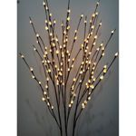 1.22 m (48 in.) Lighted Pussy Willow Branches – Set of 3. Very pricey, but pretty.