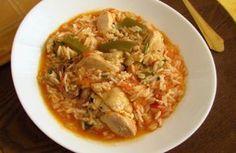 Frango guisado com arroz | Food From Portugal