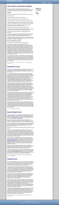 Awesome! Tucson Chiropractic >> Chiropractor Tucson --> http://chiropractortucsonarizona.com