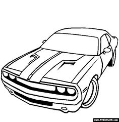 72 best fast furious birthday images 13 birthday parties 13th 1973 Firebird Formula dodge challenger coloring page online coloring cars coloring pages online coloring pages coloring