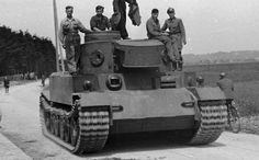 This Tiger (P) prototype was a early variant test vehicle during competition with Henschel for the Tiger 1 contract.