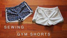 Sewing Gym Shorts - Beginner Level Tutorial