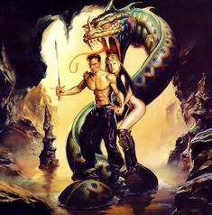 'The Decision' by Boris Vallejo