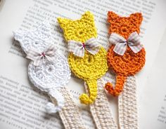 3 zakładki do książki (sprzedawca: cat a needle), do kupienia w DecoBazaar.com