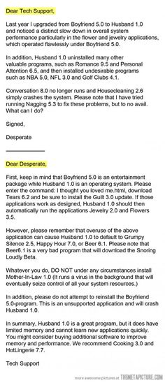 I needed this laugh today. I think I accidentally installed Grumpy 7.0 on my Princess application this morning.