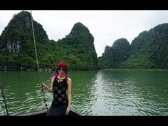 Vietnam travel video! A boat cruise of Halong Bay and Vietnam Food Tour including cooking classes and market visits. See all of #lacarmina #hanoi adventures at http://www.lacarmina.com/blog/2015/10/vietnam-food-tour-cooking-class-hanoi/