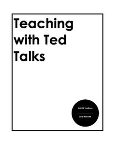 The 4 Cs: TED Talk Tuesday After your first viewing of the