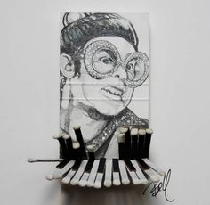 Iconic Celebrities using Matchbooks