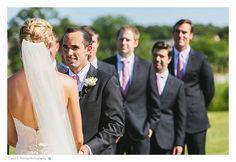 Ceremony at Elawa Farm Lake Forest Summer Wedding - Dawn E Roscoe Photography