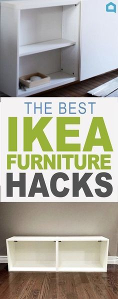 17 Ways to Make IKEA Furniture Look Amazingly High-End. The best before and aft… 17 Ways to Make IKEA Furniture Look Amazingly High-End. The best before and after furniture flips and furniture design idea for your Ikea furniture makeovers. Ikea Hacks, Ikea Furniture Hacks, Furniture Makeover, Home Furniture, Furniture Design, Diy Hacks, Rustic Furniture, Furniture Stores, Cheap Furniture