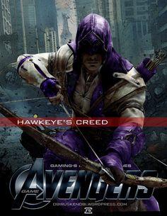 Video Game Avengers Hawkeye's Creed Fan Art 2.0 by rs2studios on DeviantArt
