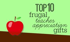 Cute and inexpensive gift ideas for teachers