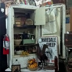 Booth 120 is full of wonderful primitive and antique/vintage furniture and all sorts of great collectibles at the Brass Armadillo (816) 847-5260...they ship stuff!