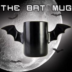 Le Bat Mug, pour boire notre café avec une bonne dose de fantaisie !