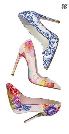 Fiebre de #prints en tus #zapatillas.  #Moda #Fashion