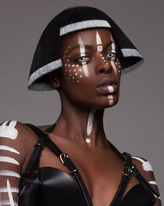 Luke Nugent British Hair Awards 2016 - Afro Finalist Collection