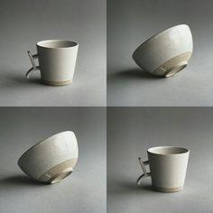 Kezemura handmade ceramics °Kanji mug & Akira bowl