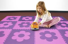 Soft Shapes Foam Tiles - Kids Puzzle Mats