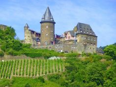 Medieval castles are one of the highlights of Uniworld's family-friendly Rhine River cruise.