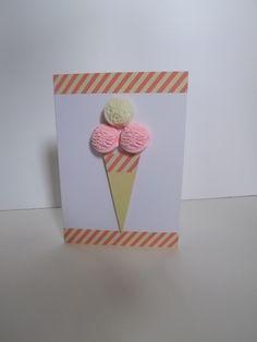 3d Ice Cream Card