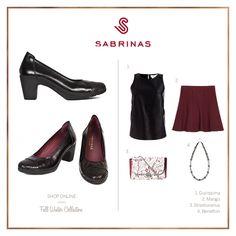 Sabrinas MILAN PITON NEGRO.   The MILAN PITON NEGRO Sabrinas. #Sabrinas #Trends #Shoes #Look #MadeInSpain #FW1415