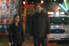 Still of Jack Coleman and Hayden Panettiere in Heroes...tv father and daughter