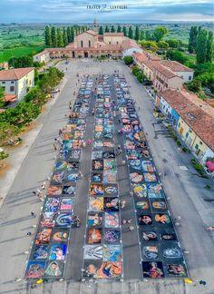 Fiera delle Grazie, Mantova, madonnari 2017 (ph Franco Lanfredi)